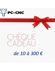 PC CNC Chèque Cadeau de 10...
