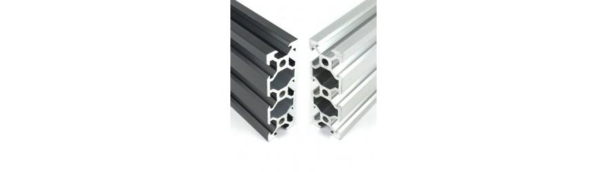 Profilé aluminium V-SLOT 20 x 60 fente 6 mm