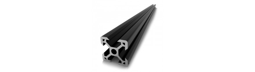 Profilé aluminium T-Slot 30 x 30 fente 8 mm