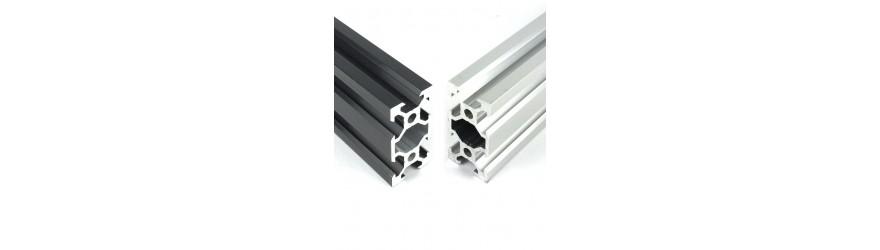 Profilé aluminium V-SLOT 20 x 40 fente 6 mm