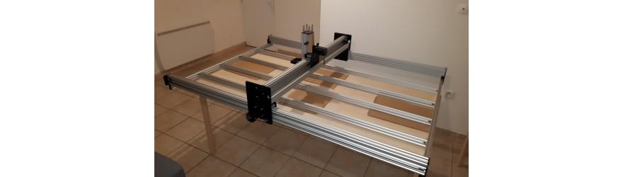 PC-CNC WorkBee Kit Mécanique Ou Complet sur mesure