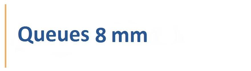 Fraises avec une queue de 8 mm